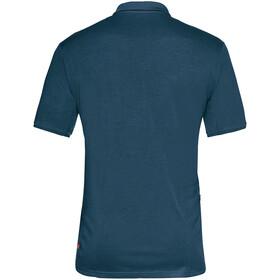 VAUDE Sentiero IV Fietsshirt Korte Mouwen Heren, blauw